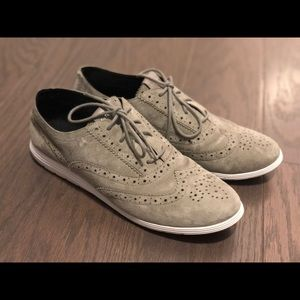 Cole Haan Women's Grand Tour suede oxfords